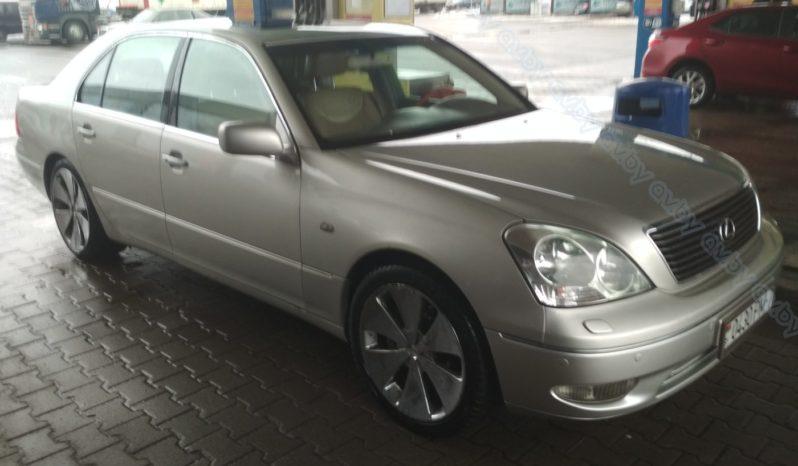 Lexus LS 2001 полный