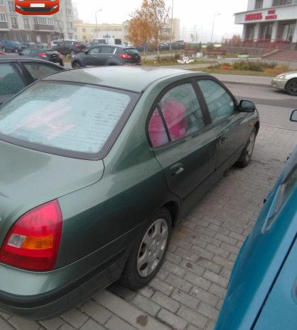 Hyundai Elantra 2001 полный