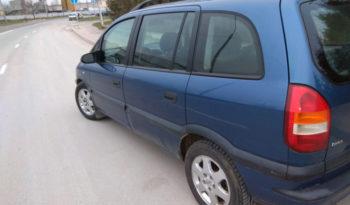 Opel Zafira 2001 полный