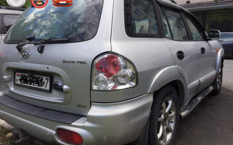 Hyundai Santa Fe 2001 полный