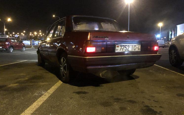 Opel Ascona 1983 полный