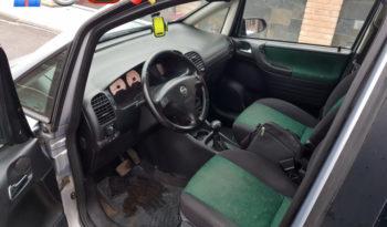 Opel Zafira 2002 полный