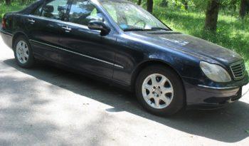 Mercedes S Класс 2001