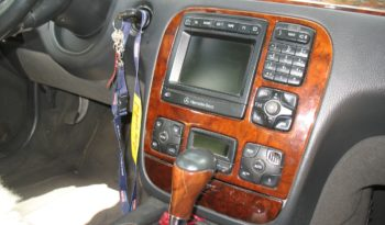 Mercedes S Класс 2001 полный